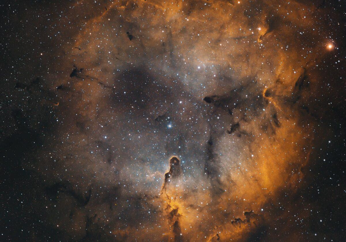 Elephant Trunk - Hubble Palette