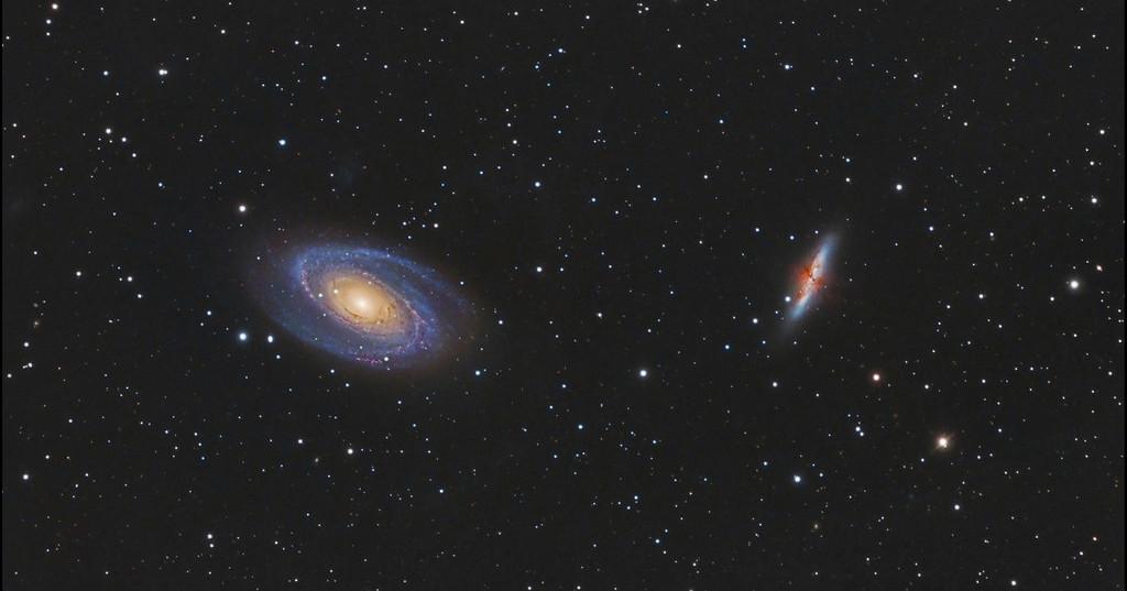Galassie M81-M82