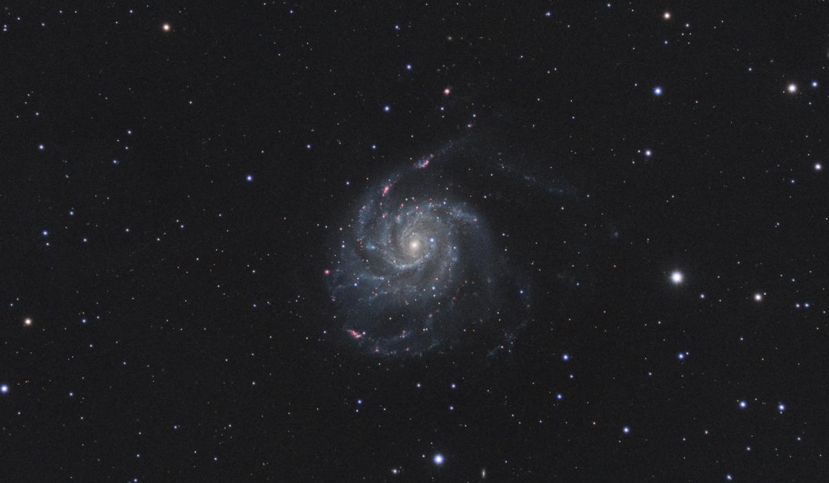 Galassia Girandola M101